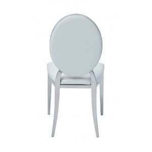110 Modern Eco-Leather Dining Side Chair by ESF Furnituree