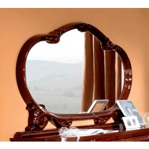 Pamela Traditional Wood Mirror by ESF Furniture