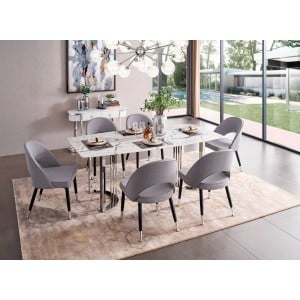 131 Modern Dining Room Set by ESF Furniture