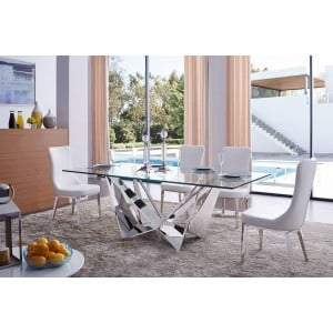 2061 Modern Dining Room Set, Composition 3 by ESF Furniture