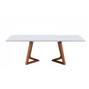1692 Modern Rectangular Extendable Dining Table by ESF Furniture