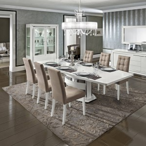 Dama Bianca Dining Table by Camelgroup, Italy