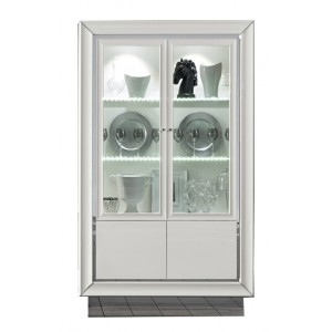 Dama Bianca China Cabinet w/2 Doors by Camelgroup, Italy