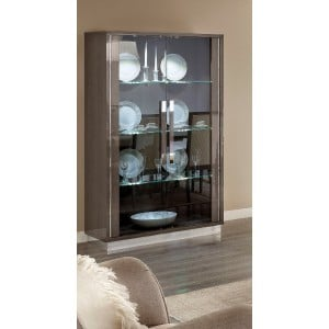 Platinum China Cabinet w/2 Doors by Camelgroup, Italy