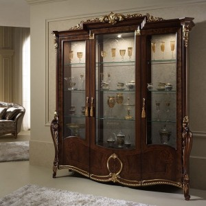 Donatello Classic 3-Door China Cabinet by ESF Furniture