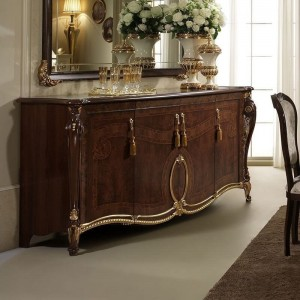Donatello Classic 4-Door Buffet by ESF Furniture