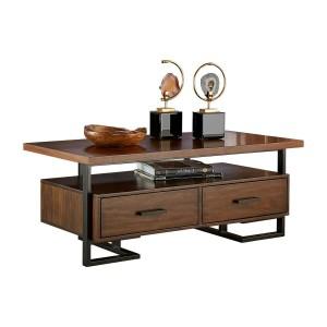 Sedley Wood Veneer Coffee Table by Homelegance