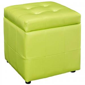 Volt Storage Ottoman, Light Green by Modway Furniture