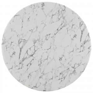 """Lippa 47"""" Artificial Marble Dining Table by Modway Furniture"""