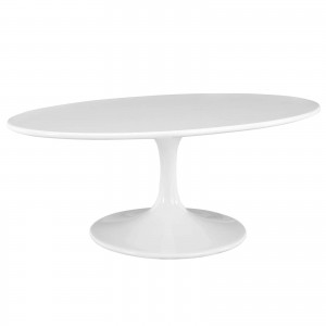 """Lippa 42"""" Oval-Shaped Wood Top Coffee Table by Modway Furniture"""