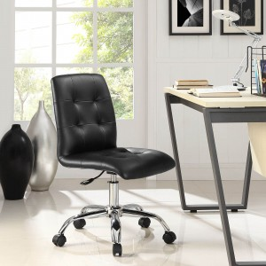 Prim Mid Back Office Chair, Black by Modway Furniture