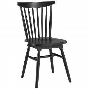 Amble Dining Side Chair, Black by Modway Furniture