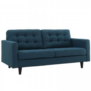 Empress Loveseat, Azure by Modway Furniture