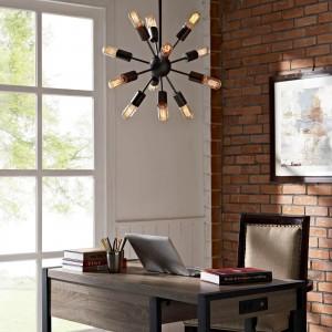 Spectrum Metal Chandelier by Modway Furniture