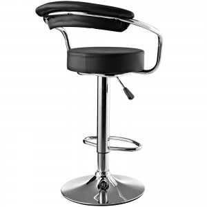 Diner Vinyl Adjustable Height Swivel Bar Stool by Modway Furniture