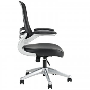Attainment Office Chair, Black by Modway Furniture