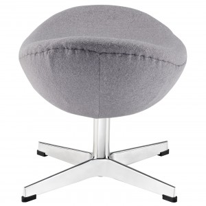Glove Wool Adjustable Height Ottoman by Modway Furniture