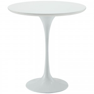 Lippa Wood Side Table, White by Modway Furniture