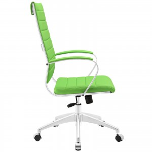 Jive Highback Office Chair, Bright Green  by Modway Furniture