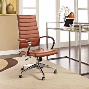 Jive Highback Office Chair, Terracotta by Modway Furniture