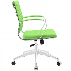 Jive Mid Back Office Chair, Bright Green  by Modway Furniture