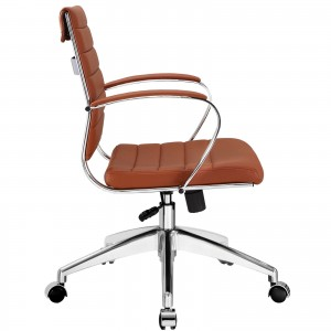 Jive Mid Back Office Chair, Terracotta by Modway Furniture