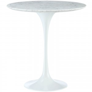 "Lippa 20"" Marble Side Table by Modway Furniture"