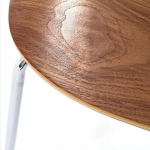 Ernie Dining Side Chair, Walnut by Modway Furniture