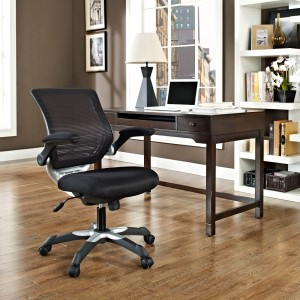 Edge Office Chair, Black by Modway Furniture