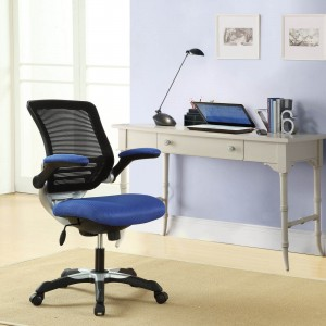 Edge Office Chair, Blue  by Modway Furniture