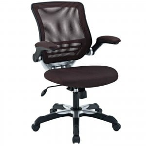 Edge Office Chair, Brown by Modway Furniture