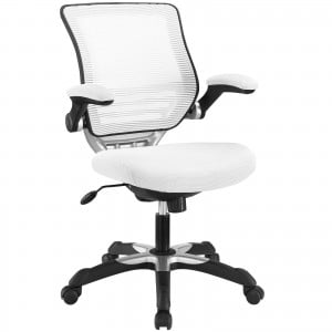 Edge Office Chair, White by Modway Furniture