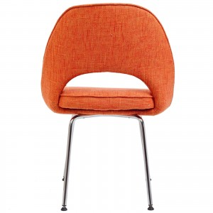 Cordelia Dining Side Chair, Orange by Modway Furniture