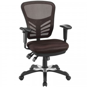 Articulate Office Chair, Brown by Modway Furniture