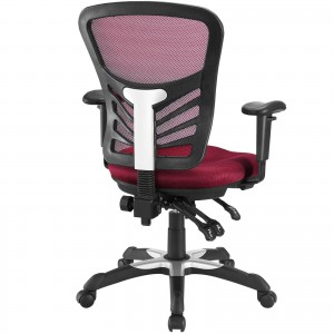 Articulate Office Chair, Red by Modway Furniture