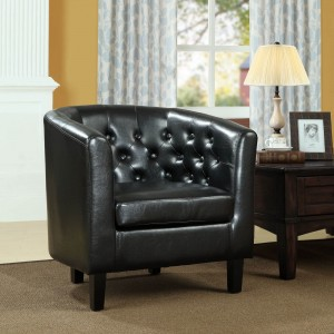 Prospect Armchair, Black by Modway Furniture