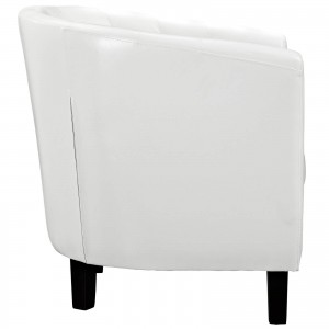Prospect Armchair, White by Modway Furniture