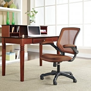 Veer Office Chair, Tan by Modway Furniture