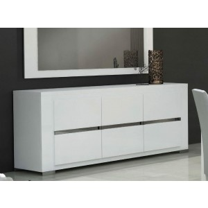 Elegance Modern 3 Door Buffet by Status, Italy