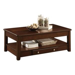 Ballwin Wood Veneer Coffee Table by Homelegance