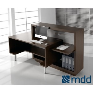 FORO Reception Desk by MDD Office Furniture