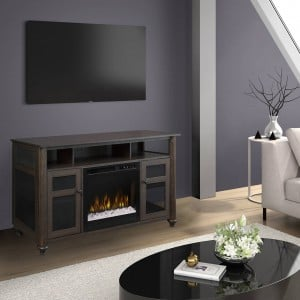 Xavier Media Console Electric Fireplace by Dimplex