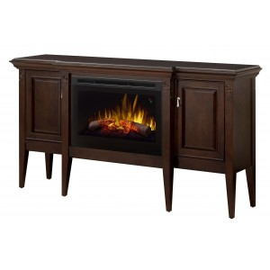 Upton Mantel Electric Fireplace Cabinet by Dimplex
