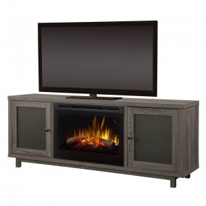 Jesse Media Console Electric Fireplace by Dimplex