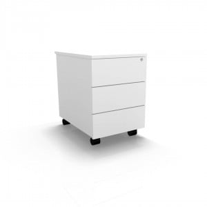 Basic Mobile Pedestal w/3 Drawer by MDD Office Furniture