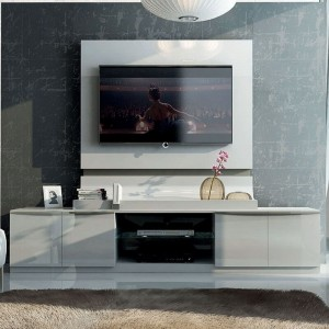 Granada Wood/Wood Veneer Wall Unit by Fenicia Mobiliario, Spain