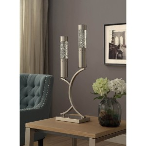 Annalina Metal/Glass Table Lamp by Homelegance