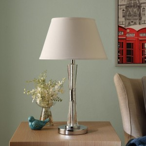 Transect Metal/Fabric Table Lamp by Homelegance