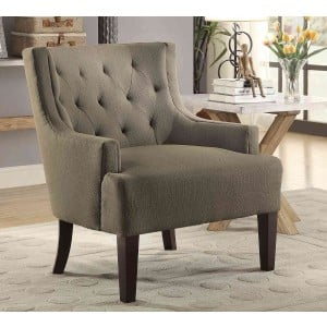 Dulce Fabric Accent Chair by Homelegance