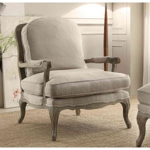 Parlier Fabric Accent Chair by Homelegance